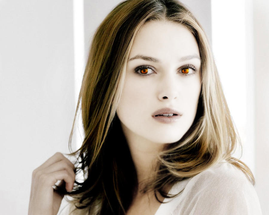 Keira Knightly as Vampire by VampiresAce