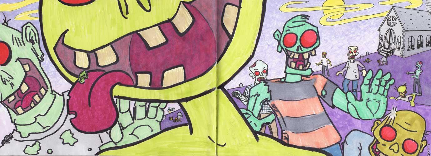 OMG ZOMBIES by ObscureStar
