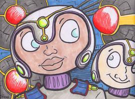 Space Romance by ObscureStar