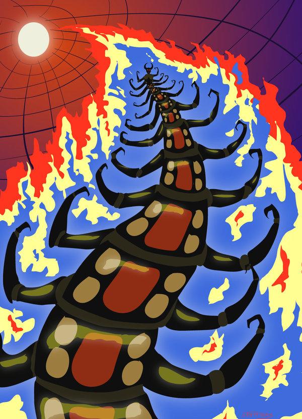 Centipede Queen by ObscureStar