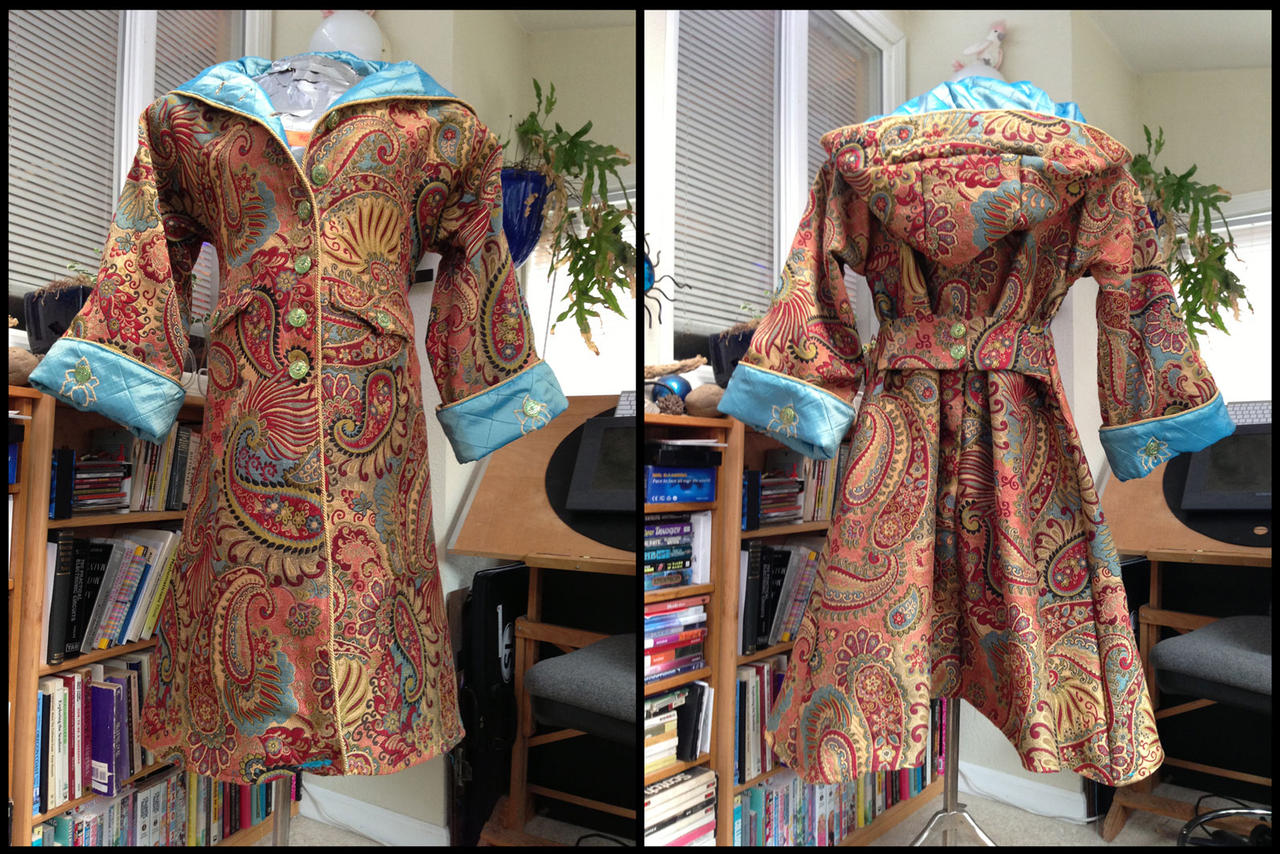 Psychedelic Dream Coat by ObscureStar