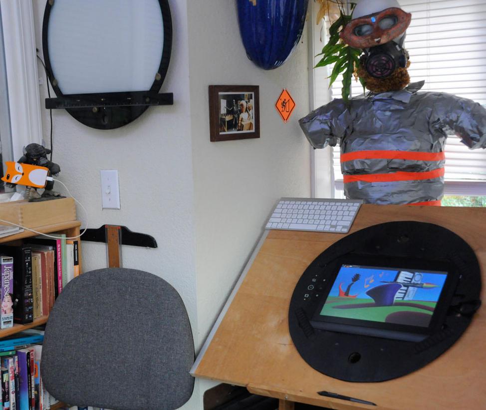Animation Desk Mark II by ObscureStar