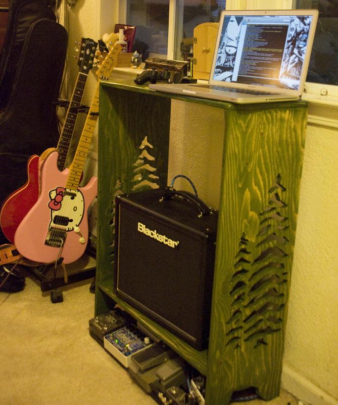 Amp Shelf by ObscureStar
