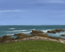 Sea Cliffs by ObscureStar