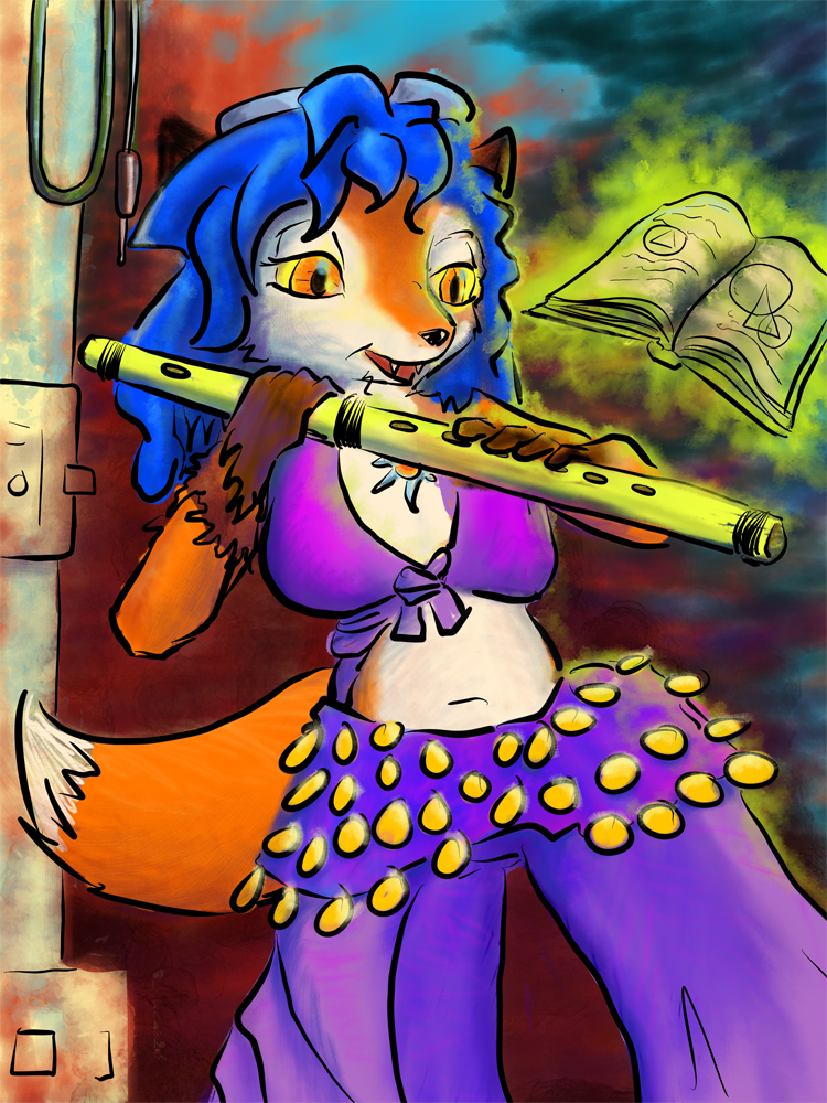 Lutea Flutea by ObscureStar