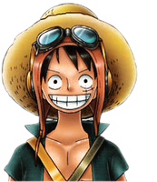 Luffy strong world render by flaxOP