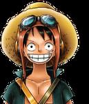 Luffy strong world render