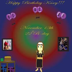 Happy Birthday Kasey by Nora-Suki