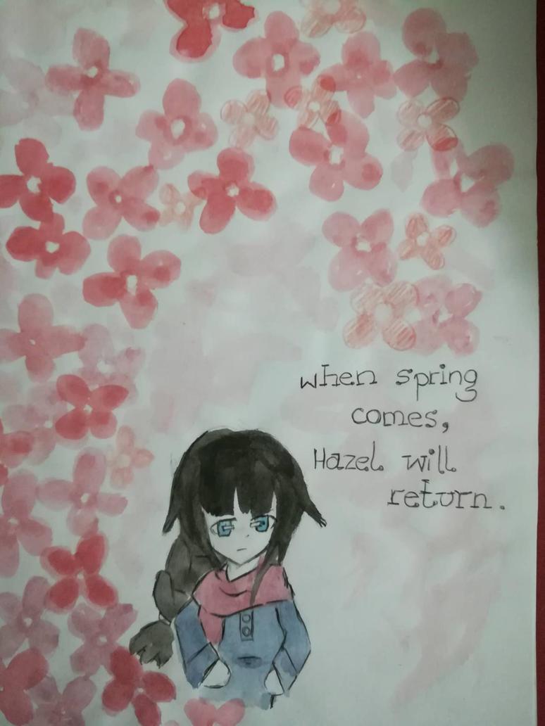 Hazel's return by shizukaria13