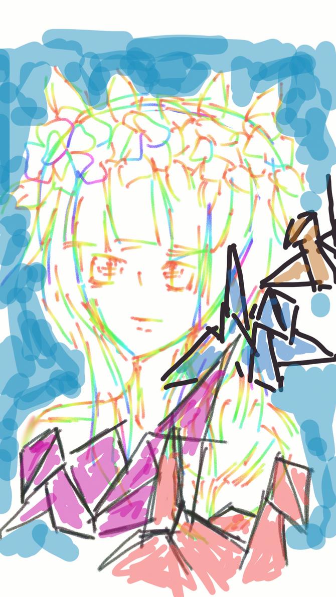Paper cranes by shizukaria13