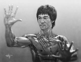 Bruce Lee by MarkIvan