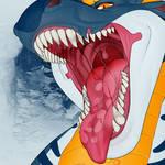 Big bad dragon by TeamCarnivores