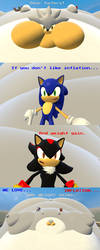 An message from Sonic,Silver and Shadow by SRX1995