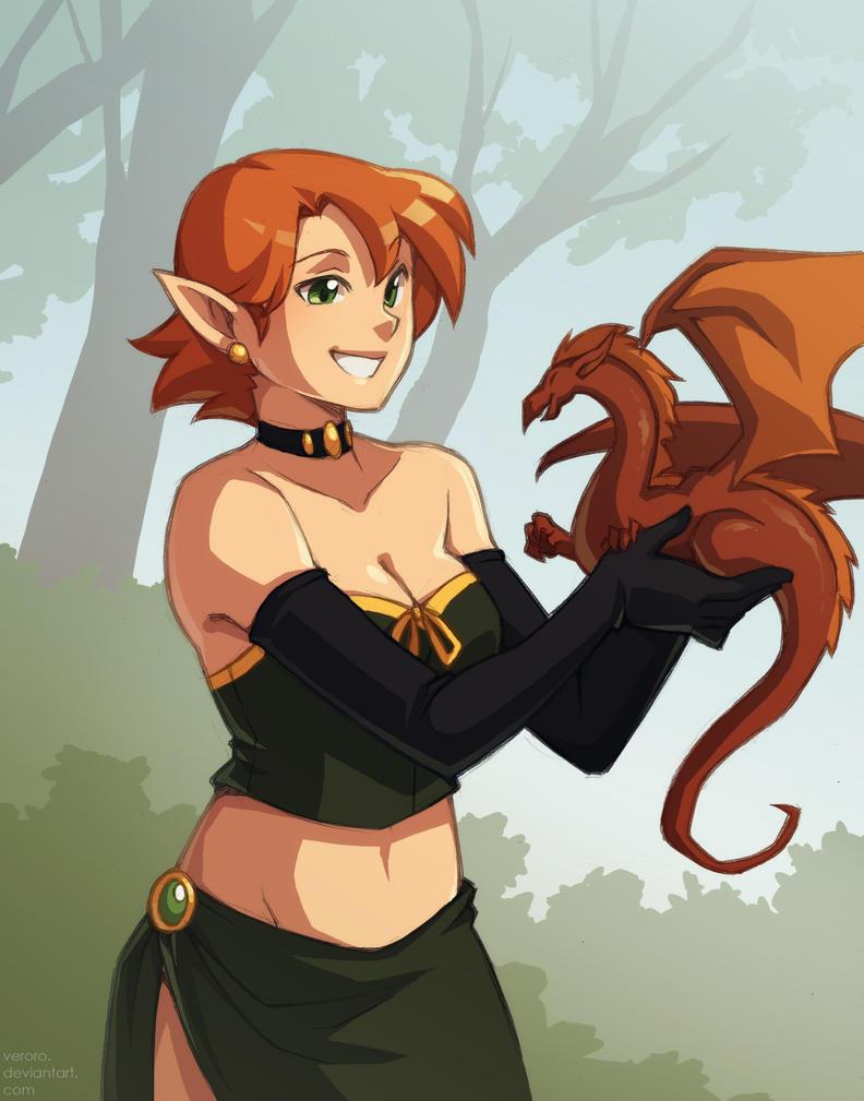 Pocket Dragon (AKA Rowan colored 4) by Alysandir