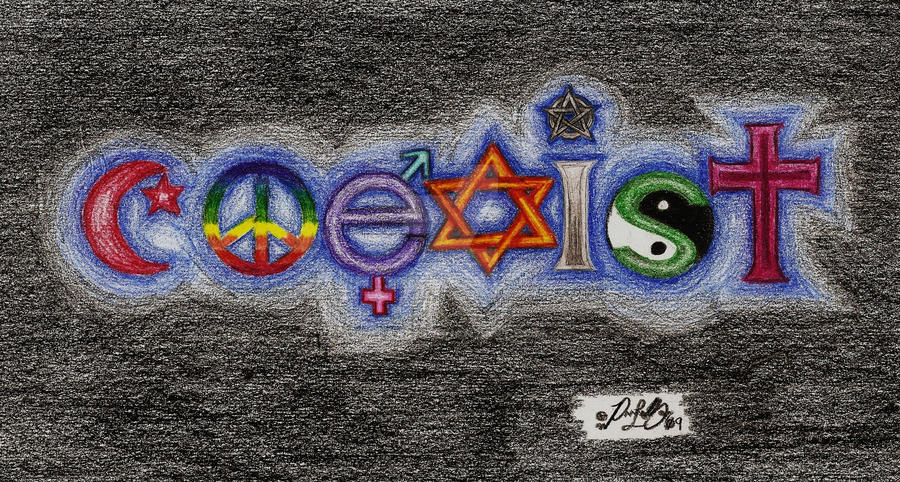 COEXIST... by Zeax82