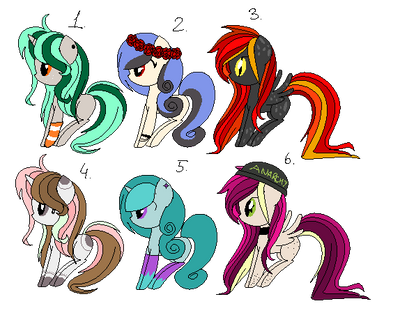 MLP Adopts (OPEN 1/6) by MLPlover2206