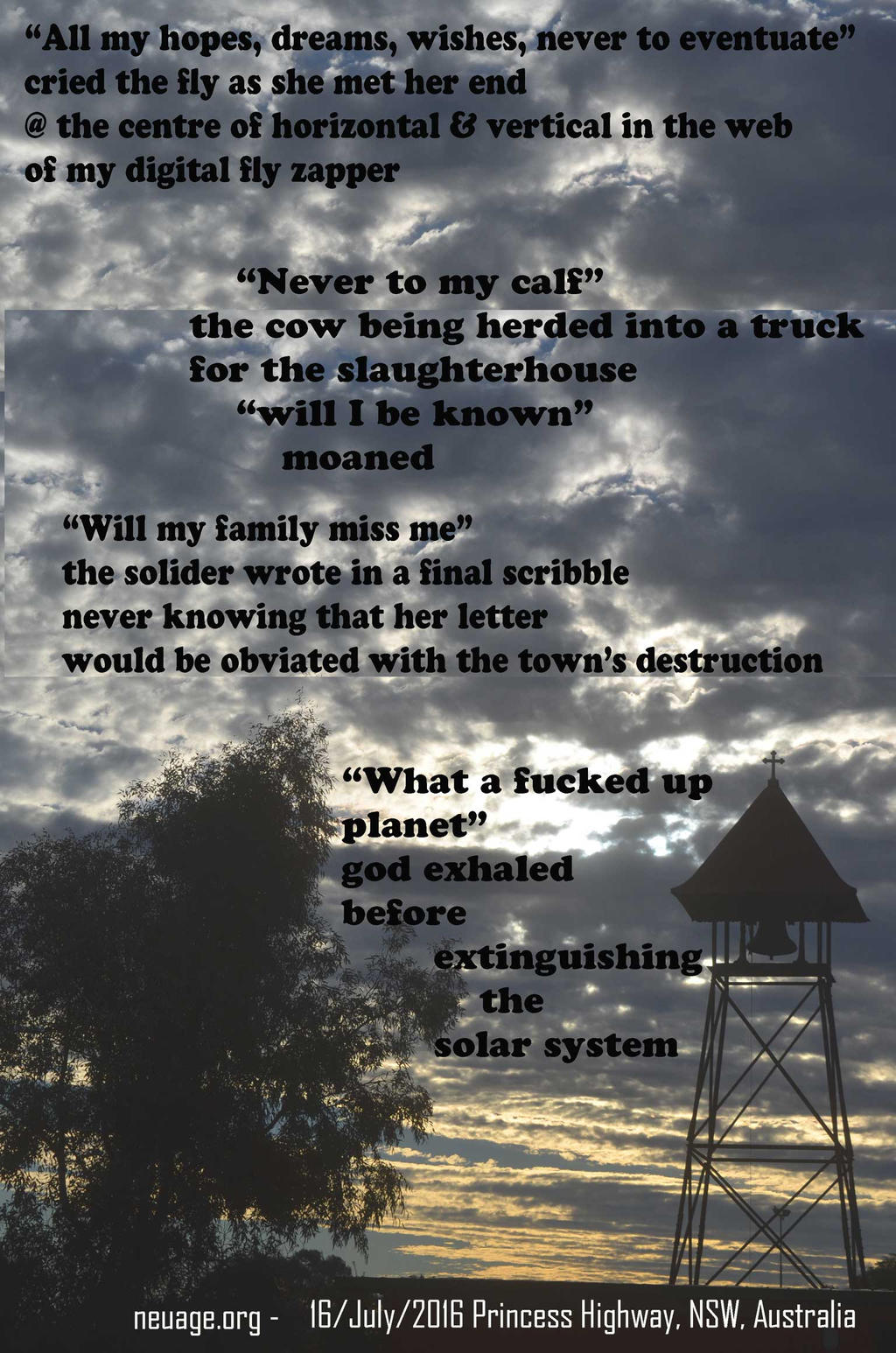 All my hopes dreams wishes never to eventuate by terrell-neuage