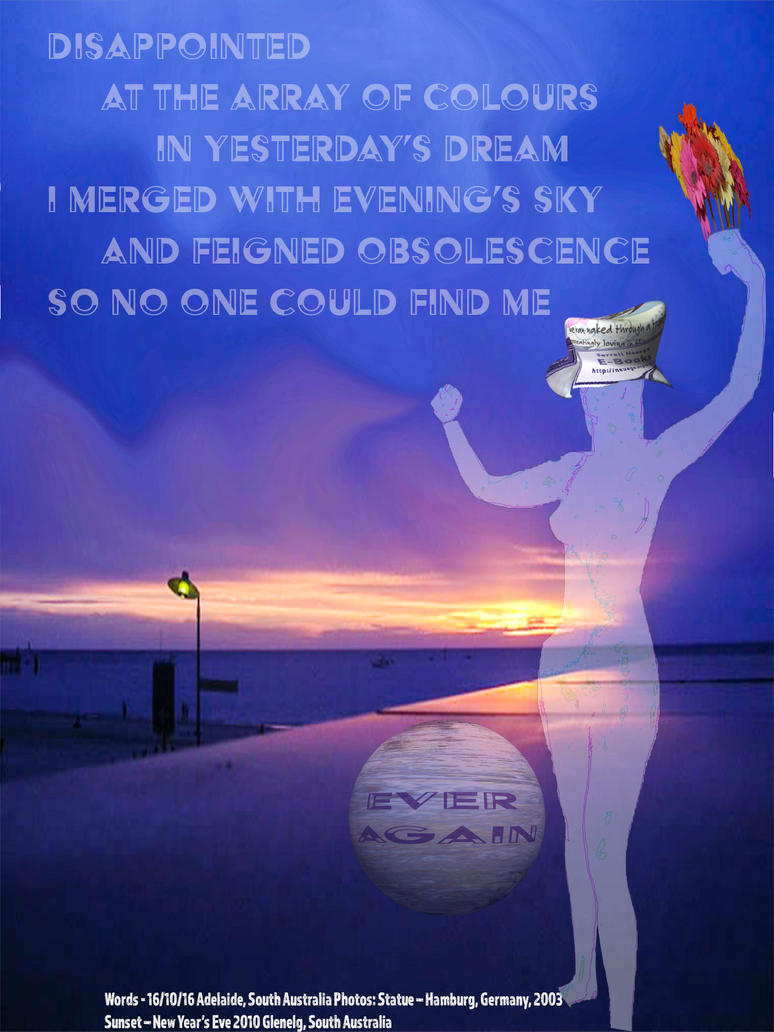 I merged with evenings sky by terrell-neuage