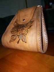leatherbag by daskleineboeckchen