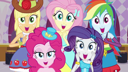 Thanks my friends. Equestria Girls. by Starlight-Z