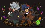 Tricks and Treats Layout by KaiTaka