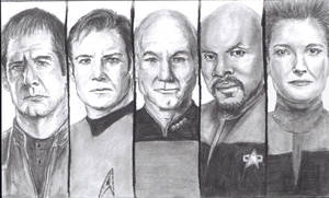 The Captains by Omega52