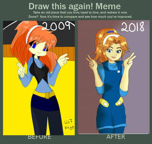 Before and After Sonic X -- Captain Molly