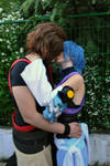 Kingdom Hearts BbS: meant to be together.