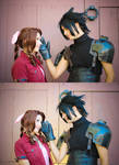 FFVII: Once Zack saw that smile his heart melted