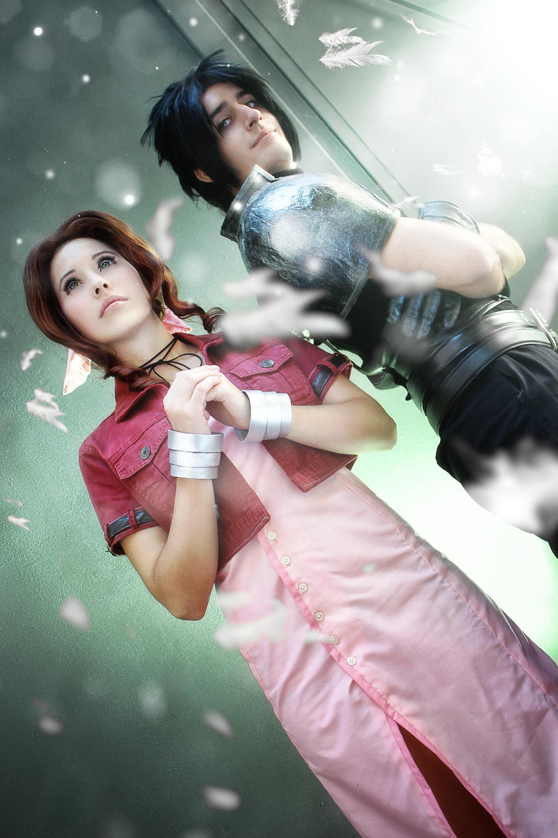 Final Fantasy VII: Zack and Aerith. by DidsRainfall on ...