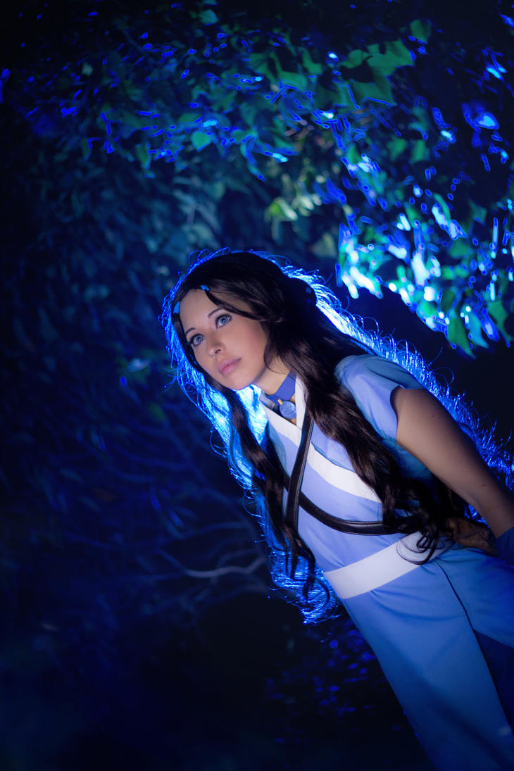 Avatar: Katara of the Southern Water Tribe by DidsRainfall