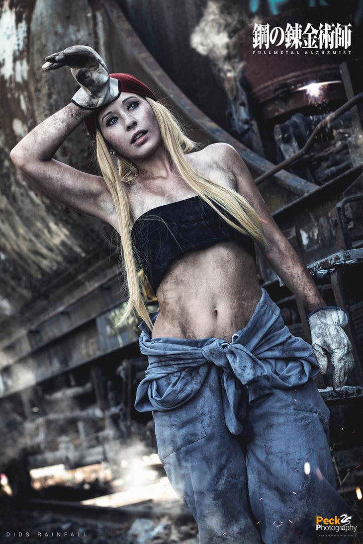 Fullmetal Alchemist (FMA): Winry Rockbell by DidsRainfall