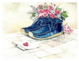 Heart letter by nhienan