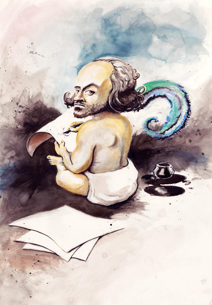 Baby Shakespeare by Rem-Brent on DeviantArt