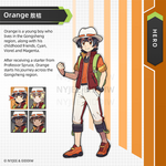 Trainer Orange by Nyjee