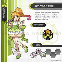 Gym leader Timothea by Nyjee