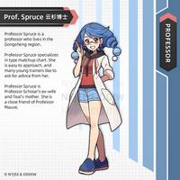 Professor Spruce by Nyjee