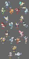 Starter Pokemon Regional Variant