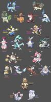 Starter Pokemon Regional Variant 2