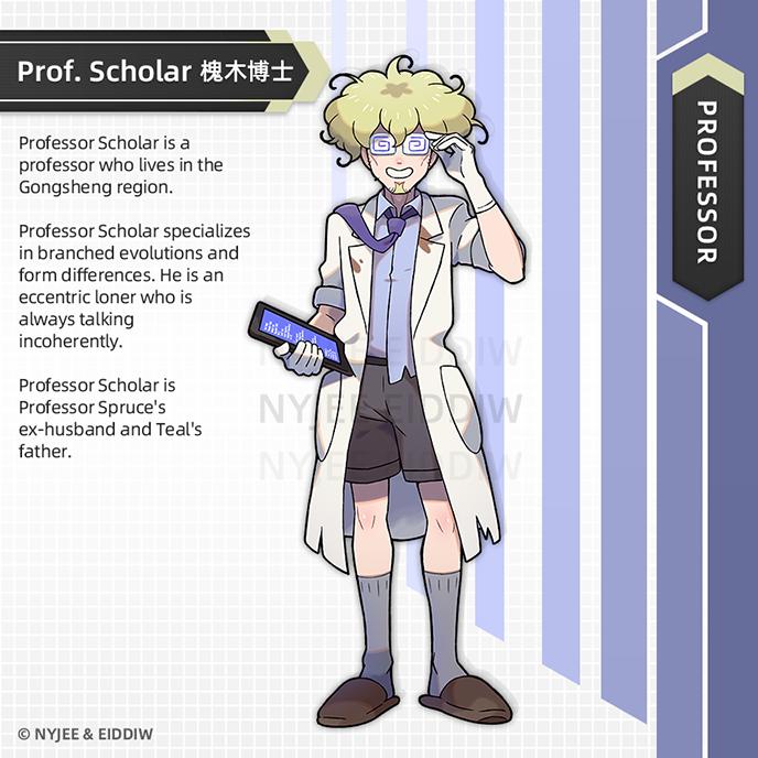 Professor Scholar by Nyjee