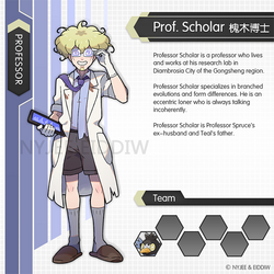 Professor Scholar by Nyjee