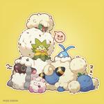 New pokemon Wooloo and Eldegoss