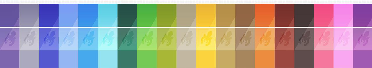 pokemon type colors