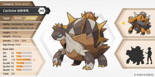 245 Cactoise (fake pokemon)