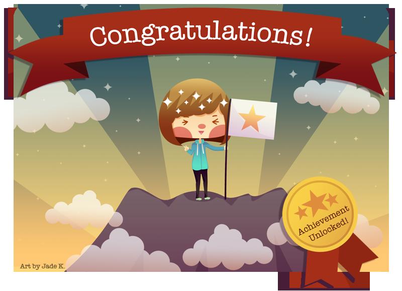 Achievement Unlocked by Jade-Key