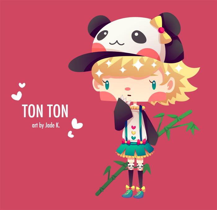 Chibi Raffle 2 - Ton Ton by Jade-Key