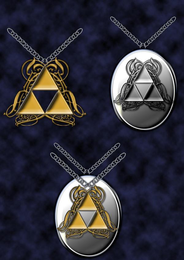 triforce locket by Darla-Illara