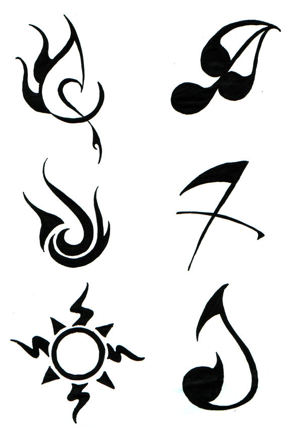 6 elements tattoo by darla illara on deviantart. Black Bedroom Furniture Sets. Home Design Ideas