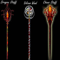 Fire weapon set3 by Darla-Illara
