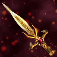 Sunflame Dagger by Darla-Illara